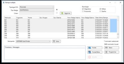 Digitronica.IT PhotoBase per stampa e codifica badge aziendali