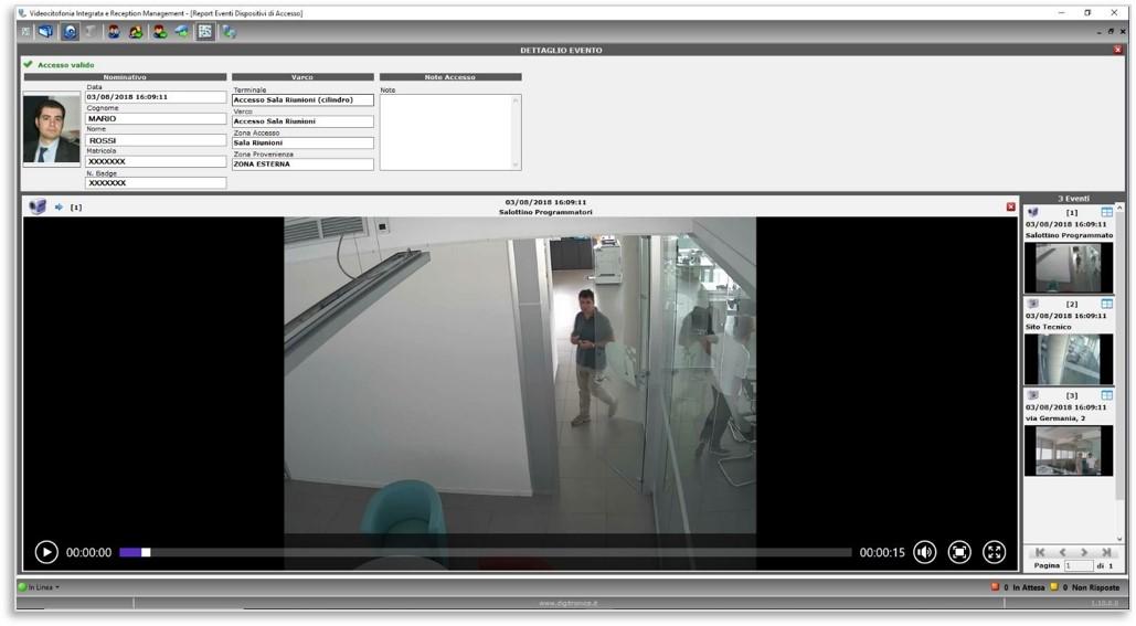 Digitronica.IT RemAcces per gestione accessi alle sedi remote non presidiate
